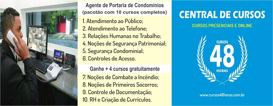 Curso AGP Nº 02 - Portaria de Condomínios