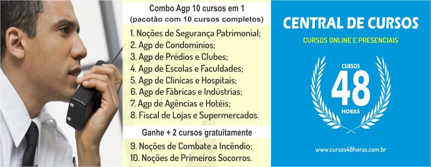 Combo 4: AGP Completo (10 cursos em 1)