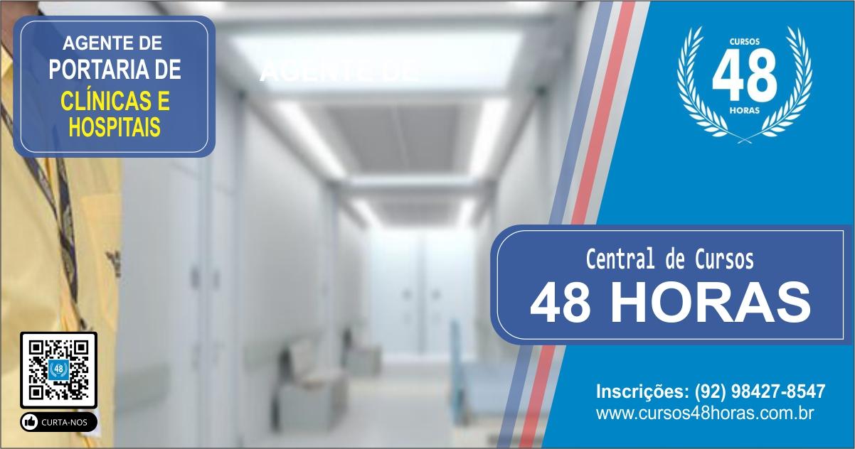 Curso AGP Nº 05 - Portaria de Clínicas e Hospitais