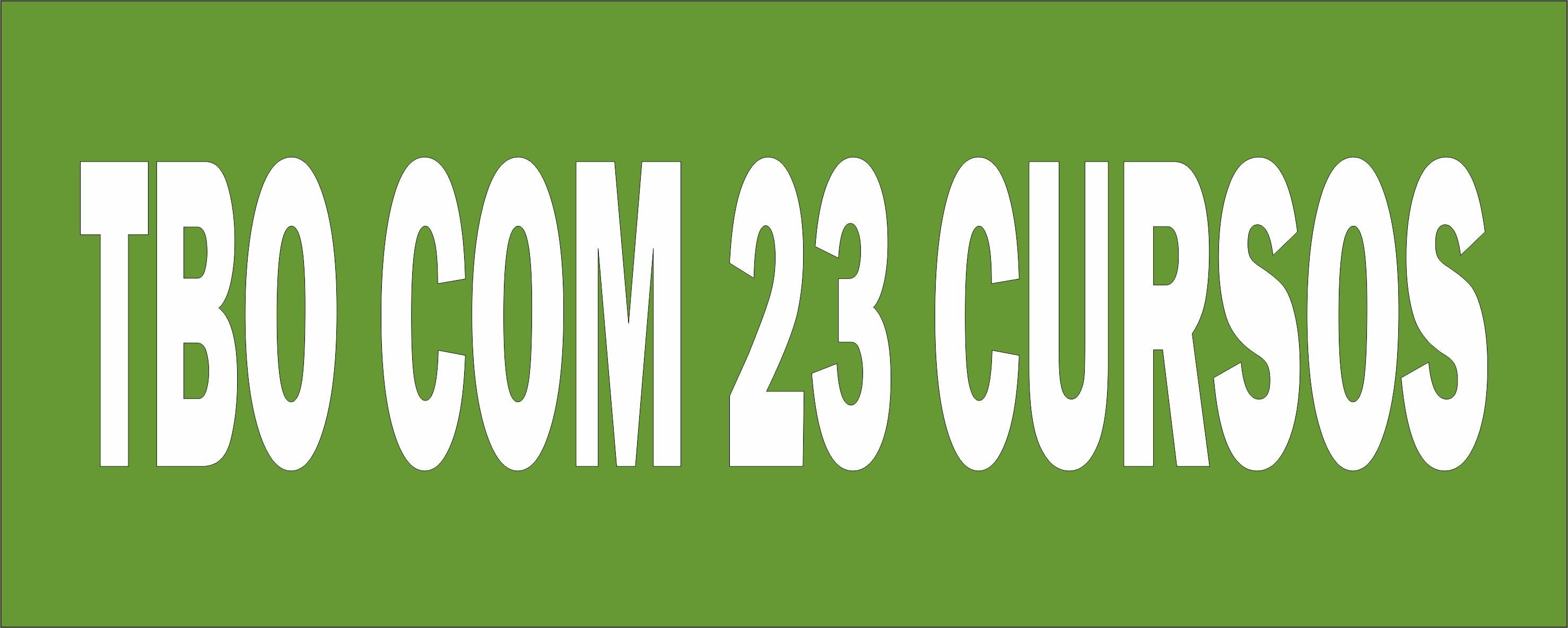 Combo: TBO + Produção + Logística + Qualidade (23 cursos)